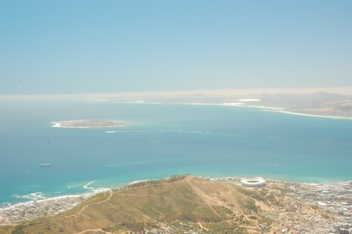 Cape Town, from Table Mountain