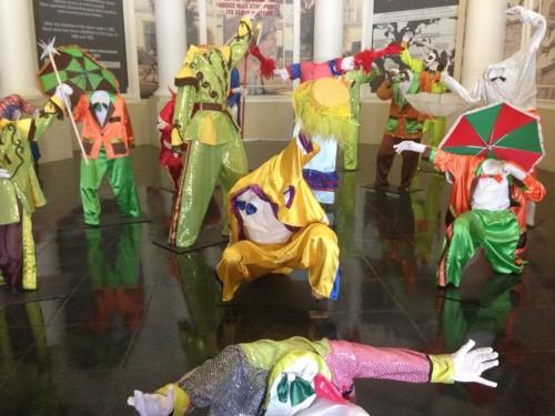 Carnival display at the Slave Lodge